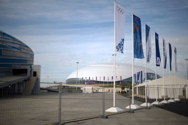 Ледовый дворец Большой в Олимпийском парке Сочи