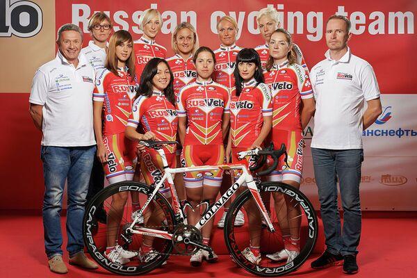 Женская команда РусВело.