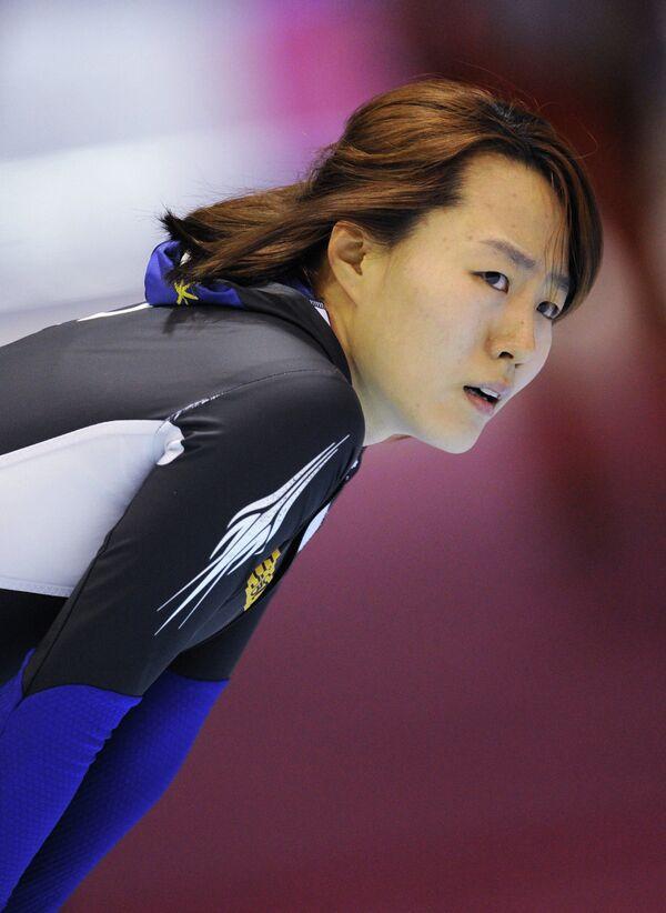 Конькобежный спорт. Ли Сан Хва.