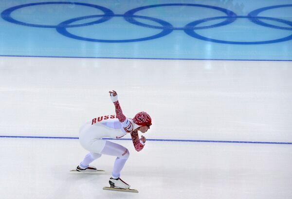 Ольга Фаткулина Конькобежный спорт. Пробные соревнования