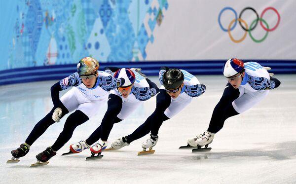 Семен Елистратов, Владимир Григорьев, Виктор Ан, Дмитрий Мигунов (слева направо)