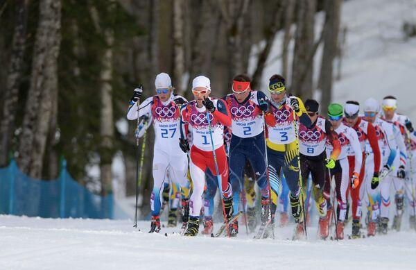 Олимпиада 2014. Лыжные гонки. Мужчины. Скиатлон