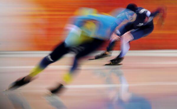 Олимпиада 2014. Конькобежный спорт. Мужчины. 500 метров