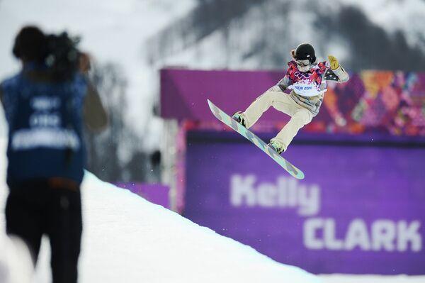 Олимпиада 2014. Сноуборд. Женщины. Хафпайп