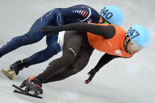 Хан Бин Ли (Южная Корея) и Нильс Керстхолт (Нидерланды)
