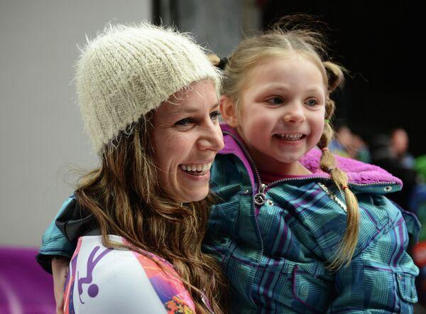 Ноэль Пайкус-Пейс с дочерью
