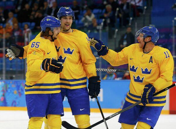 Игроки мужской сборной Швеции по хоккею