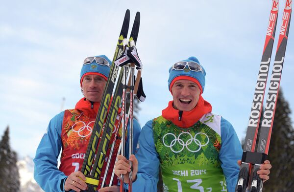Максим Вылегжанин и Никита Крюков (слева направо)