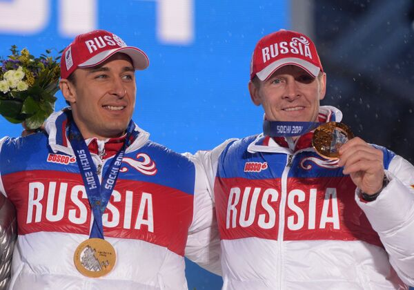 Алексей Воевода и Александр Зубков (слева направо)