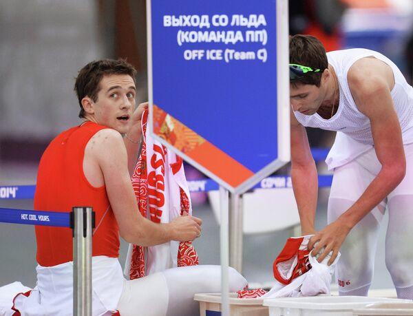 Денис Юсков (слева) и Александр Румянцев