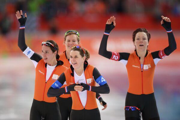 Конькобежки сборной Нидерландов