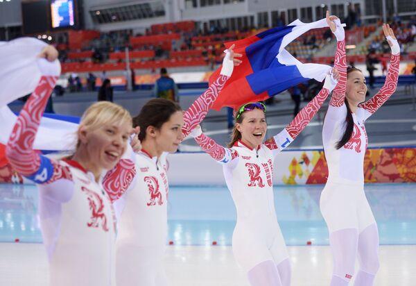 Ольга Граф, Екатерина Лобышева, Юлия Скокова, Екатерина Шихова