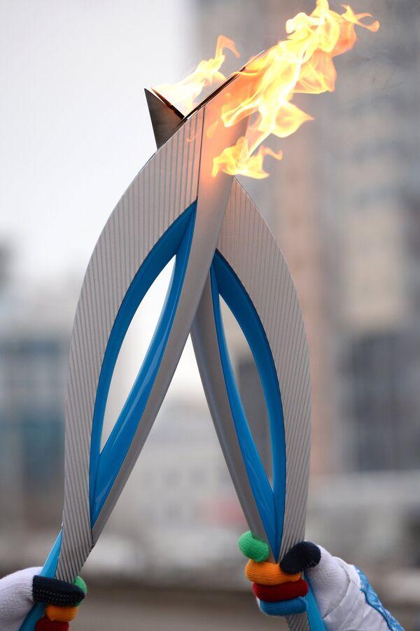 Эстафета Паралимпийского огня. Екатеринбург