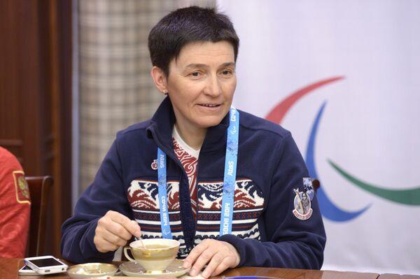 Старший тренер сборной России по лыжным гонкам и биатлону Ирина Громова