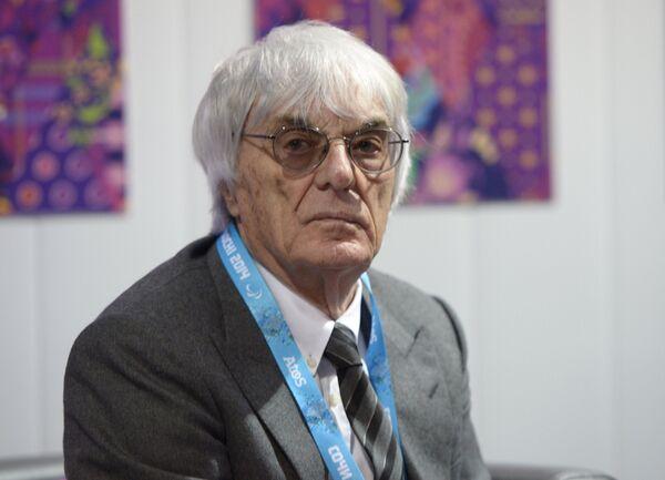 Владелец Формулы-1 Берни Экклстоун
