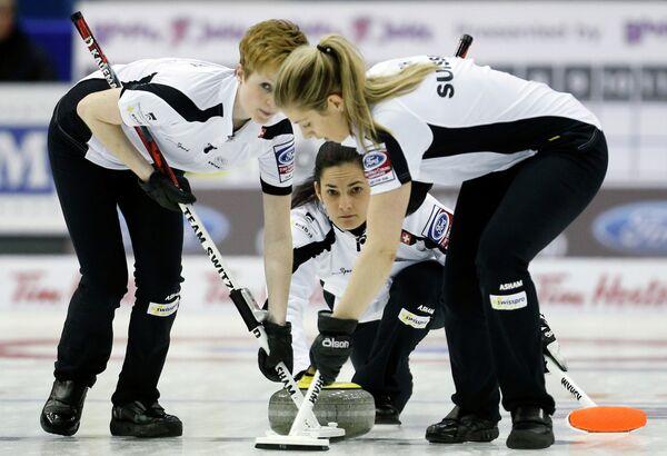 Керлингистки сборной Швейцарии