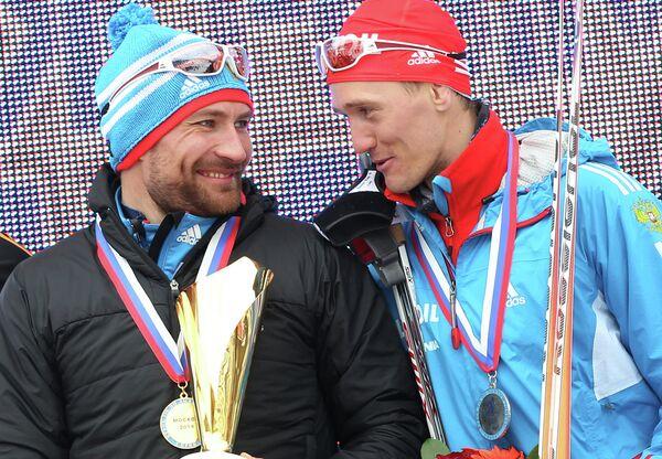 Алексей Петухов и Никита Крюков (слева направо)