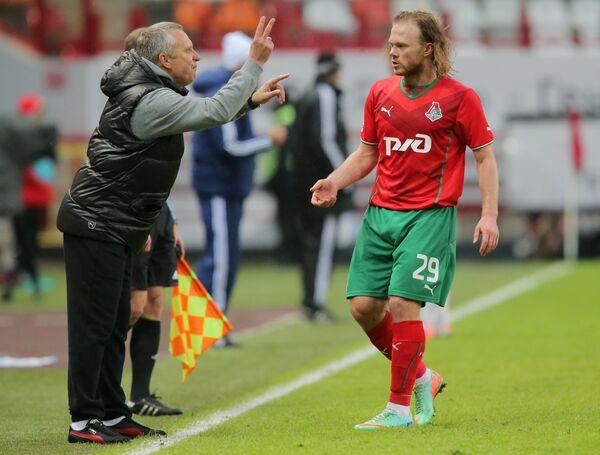 Леонид Кучук (слева) и Виталий Денисов