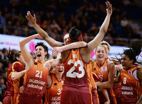 Баскетболистки Галатасарая