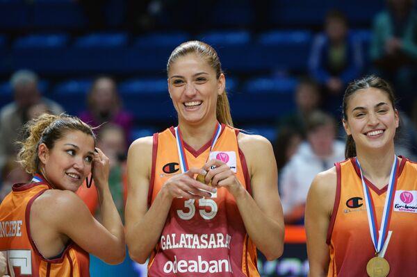 Баскетбол. Евролига. Женщины. Финальный матч