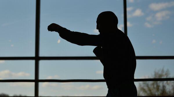 Бокс. Тренировка Д.Лебедева и Г.Джонса перед боем