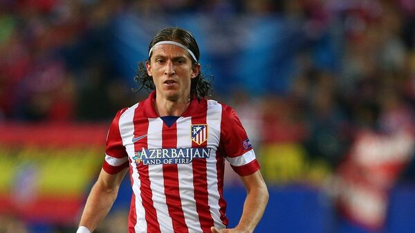 Защитник Атлетико (Мадрид) Филипе Луис
