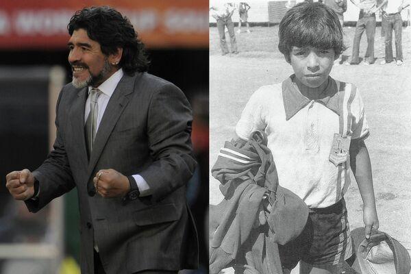 Футболист Диего Марадона
