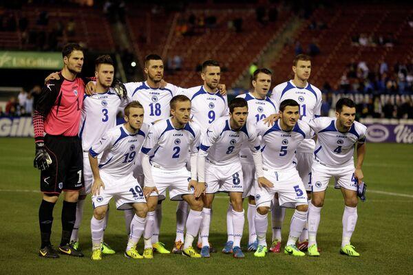 Футболисты сборной Боснии и Герцеговины