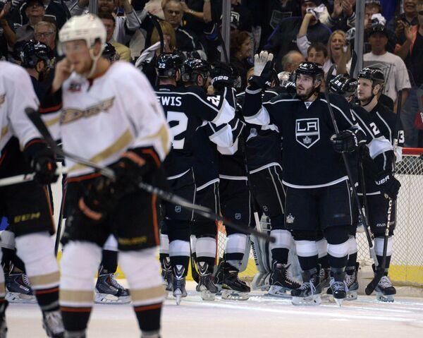 Хоккеисты Лос-Анджелес Кингз