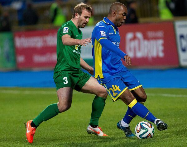 Алексей Аравин (слева) и Флоран Синама-Понголь