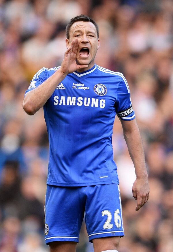 Английский футболист Джон Терри.