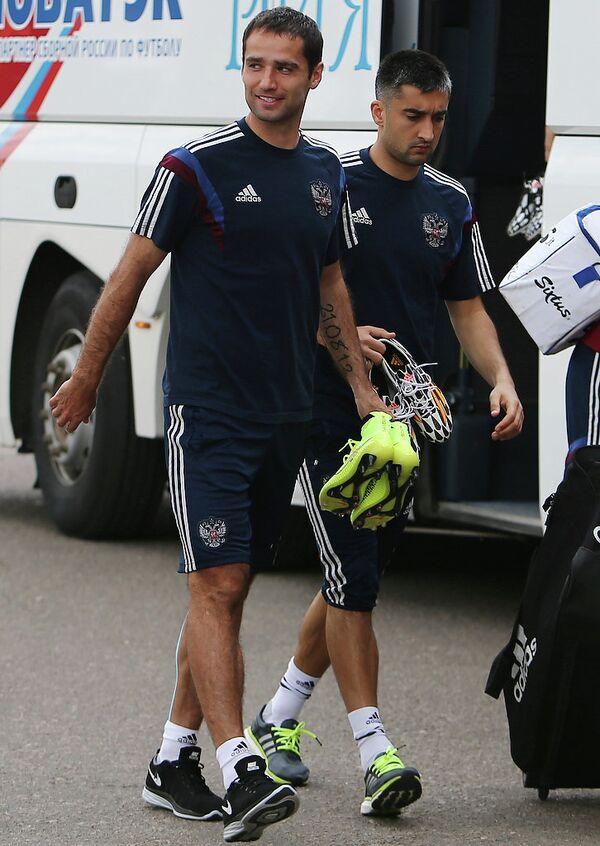 Александр Самедов (справа) и Роман Широков
