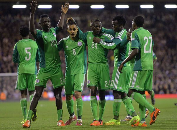 Футболисты сборной Нигерии