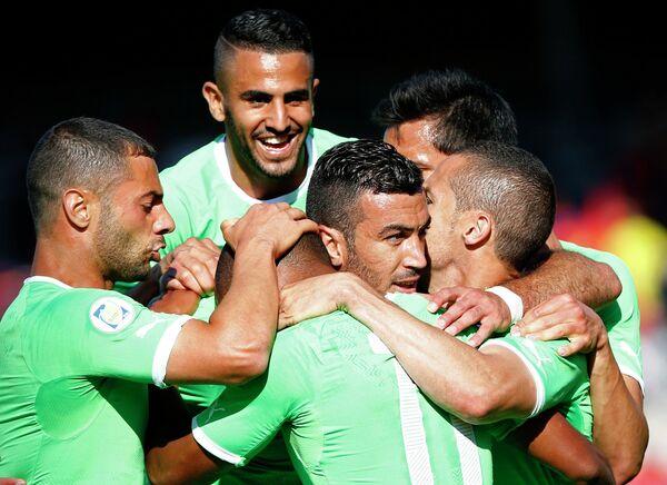 Сборная Алжира по футболу обыграла команду Армении в товарищеском матче
