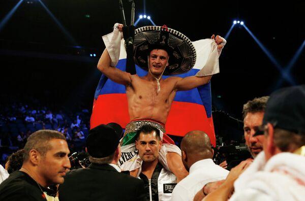 Российский боксер Евгений Градович защитил титул чемпиона мира по версии IBF