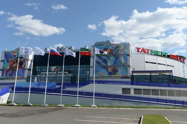 Ледовый дворец Татнефть арена в Казани