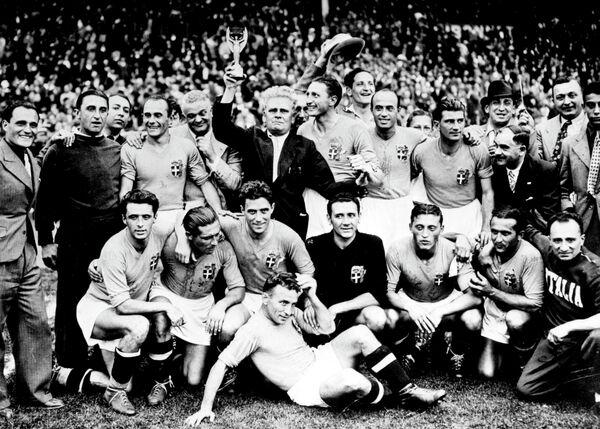 Футболисты сборной Италии, 1938 год