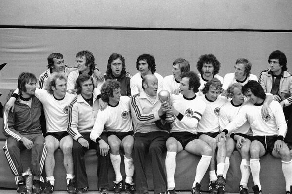 Футболисты сборной ФРГ, 1974 год