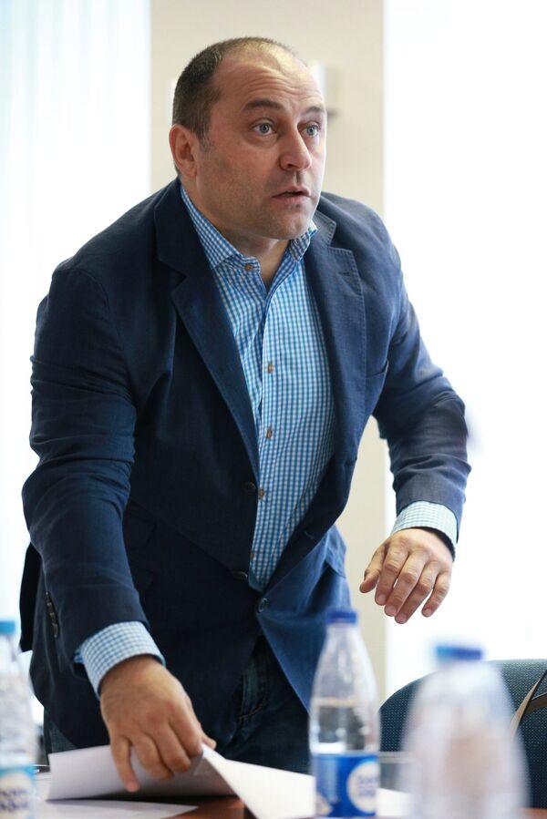 Президент ФКР Дмитрий Свищев