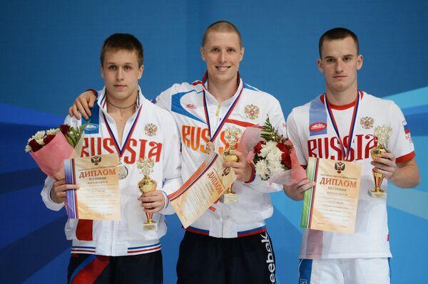Илья Молчанов, Евгений Новоселов и Александр Кандраши (слева направо)
