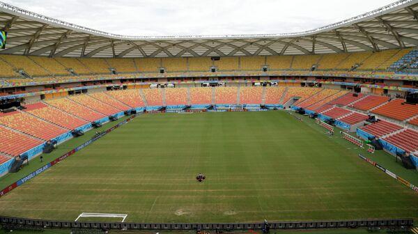 Стадион в Манаусе в преддверии старта ЧМ-2014