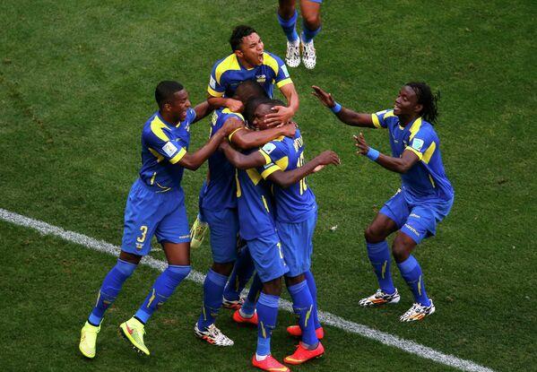 Футболисты сборной Эквадора