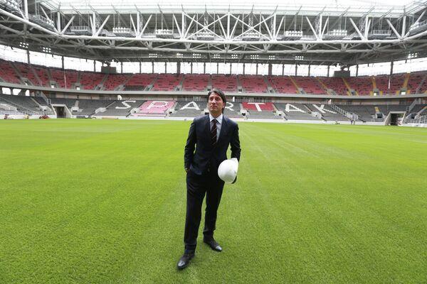 Швейцарский тренер Мурат Якин, представленный в качестве главного тренера московского футбольного клуба Спартак