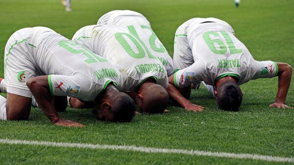 Футболисты сборной Алжира