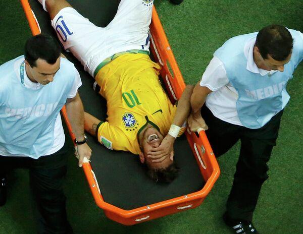 Бразильский форвард Неймар больше не сыграет на ЧМ-2014 по футболу