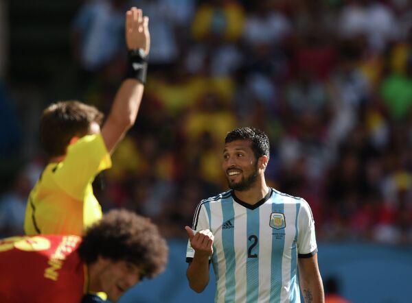 Защитник сборной Аргентины Эсекьель Гарай