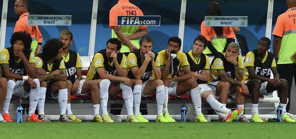 Футбол. Чемпионат мира - 2014. Матч за третье место. Бразилия - Нидерланды
