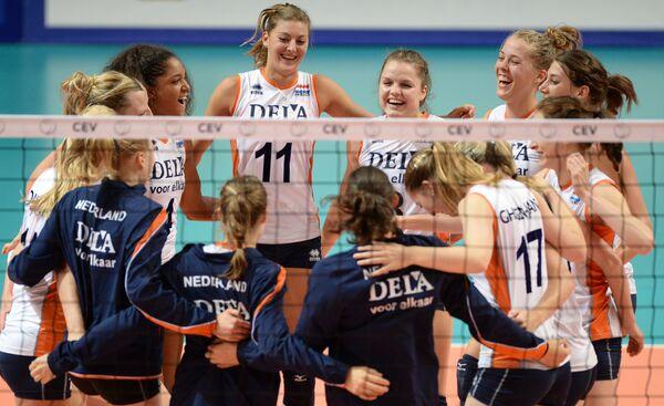 Волейбол. Кубок Ельцина. Матч за третье место. Япония - Нидерланды