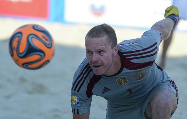 Пляжный футбол. Этап Евролиги. Матч Россия - Испания