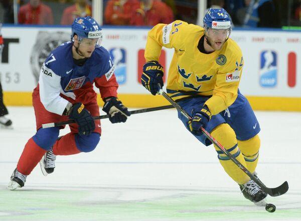 Маттиас Экхольм (справа) и Владимир Соботка